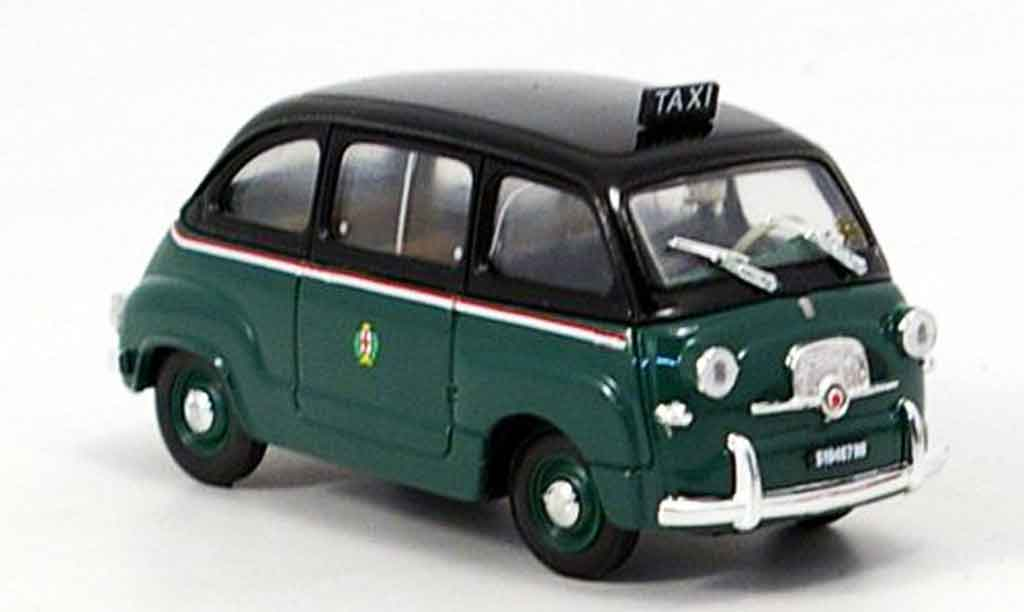 fiat 600 multipla taxi mailand 1956 brumm modellauto 1 43. Black Bedroom Furniture Sets. Home Design Ideas