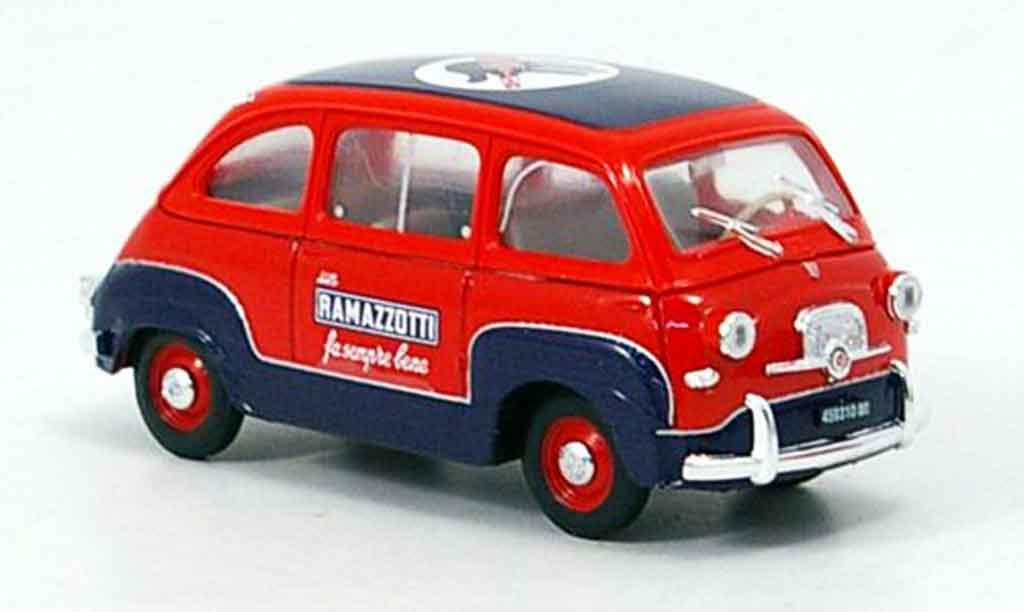 fiat 600 miniature multipla ramazzotti 1960 brumm 1 43 voiture. Black Bedroom Furniture Sets. Home Design Ideas