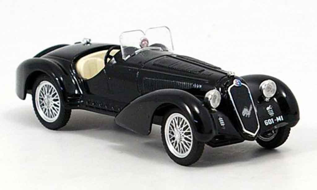 Alfa Romeo 8C 2900 1/43 Brumm b noire 1938