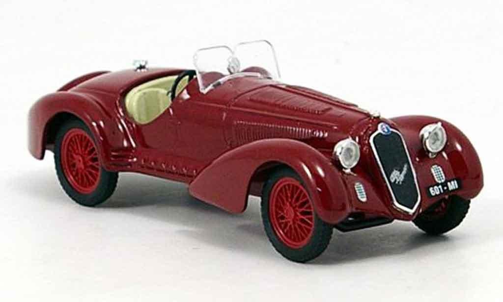 Alfa Romeo 8C 2900 1/43 Brumm b rouge 1938