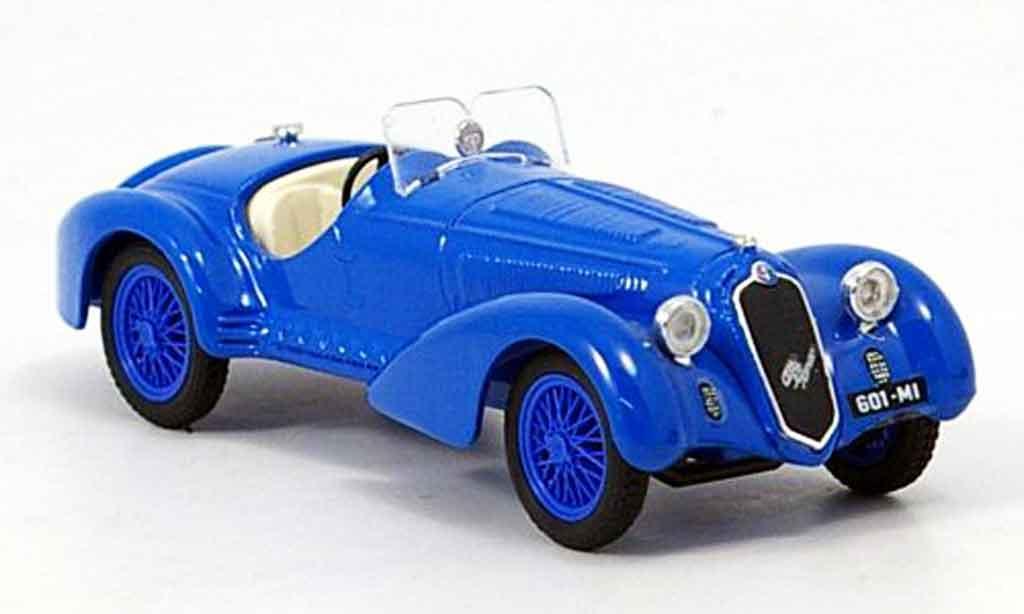 Alfa Romeo 8C 2900 1/43 Brumm b bleu 1938