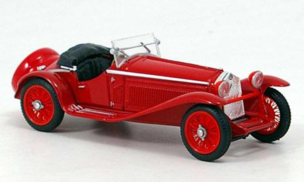 Alfa Romeo 1750 1/43 Brumm Zagato rouge 1931 miniature