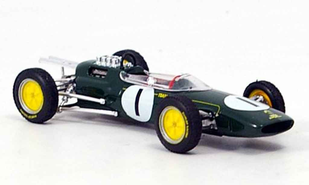 Lotus 25 1/43 Brumm no.1 clark gp belgien 1963 modellautos