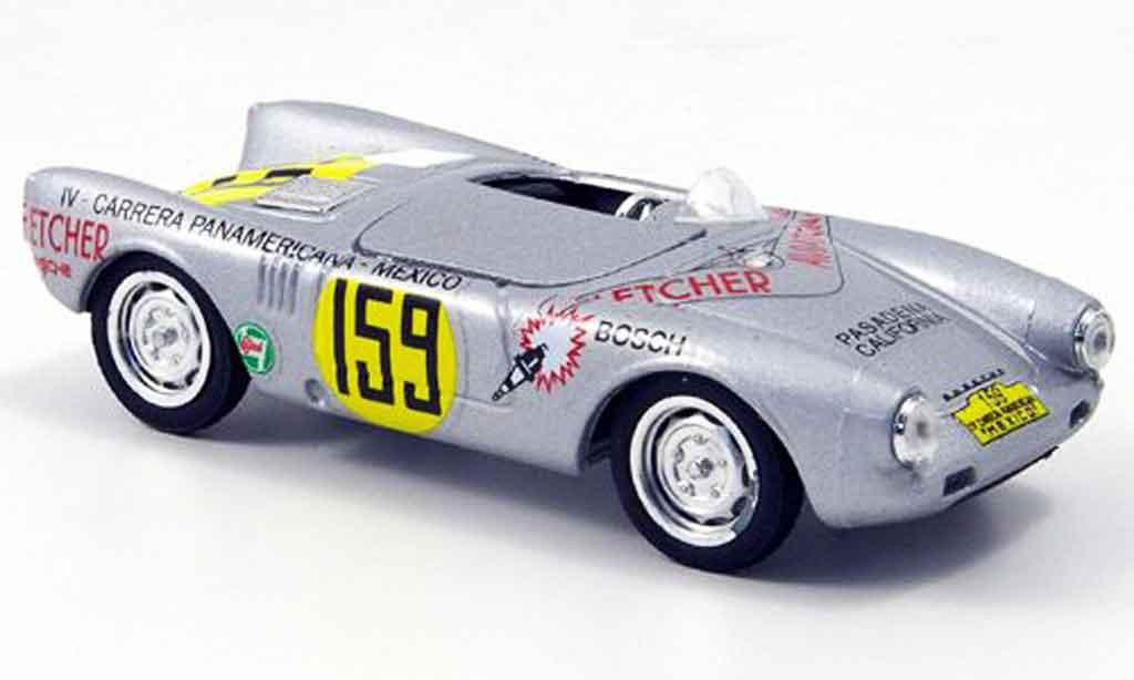 Porsche 550 1953 1/43 Brumm Spyder No.159 Carrera Mexico miniature
