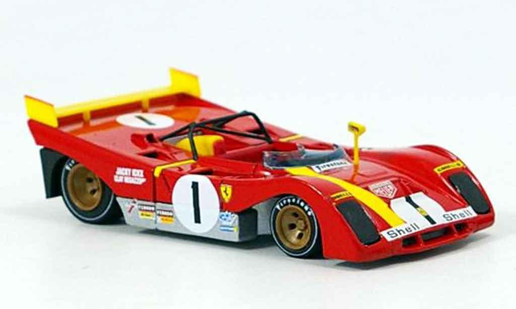 Ferrari 312 PB 1/43 Brumm no.1 ickx 1000km monza 1972 diecast model cars