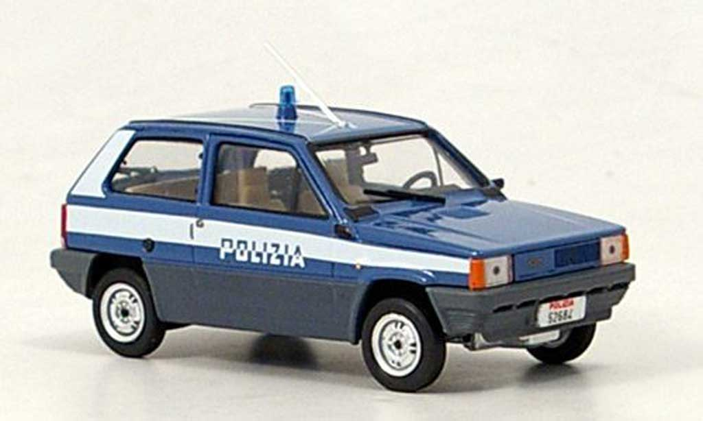 Fiat Panda 1/43 Brumm 45 Polizia Polizei Italien 1980 miniature