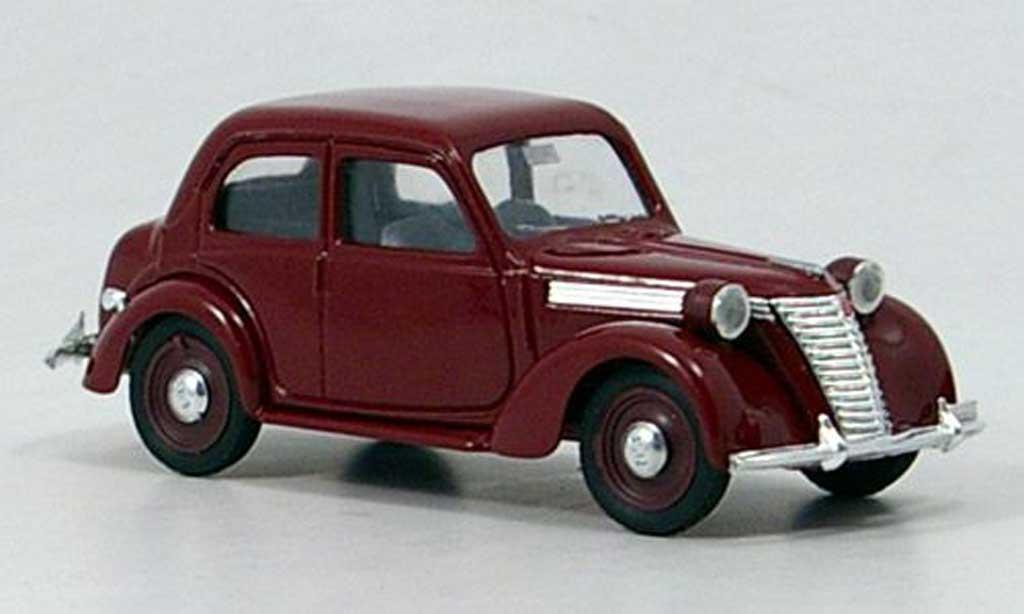 Fiat 1100 1949 E rot Brumm. Fiat 1100 1949 E rot modellauto 1/43