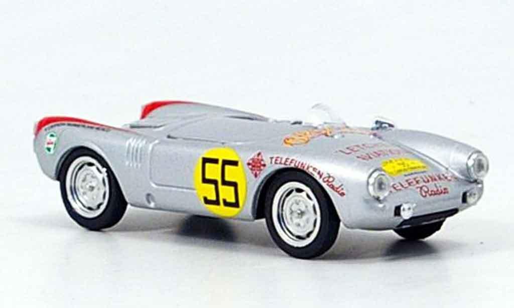 Porsche 550 1954 1/43 Brumm Spyder No.55 Carrera Mexico miniature