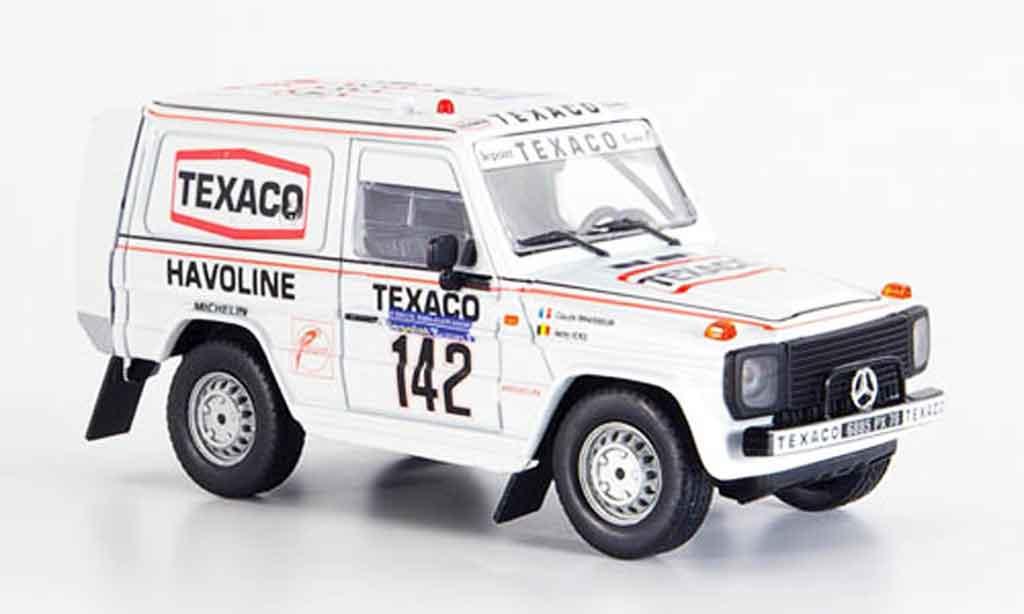 Mercedes 280 1983 1/43 Norev 1983 GE No.142 Ickx Brasseur Rally Dakar 1983 diecast model cars