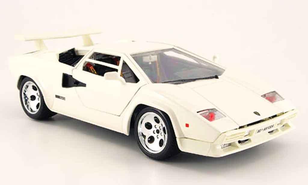 Lamborghini Countach 5000 Quattrovalvole White Burago