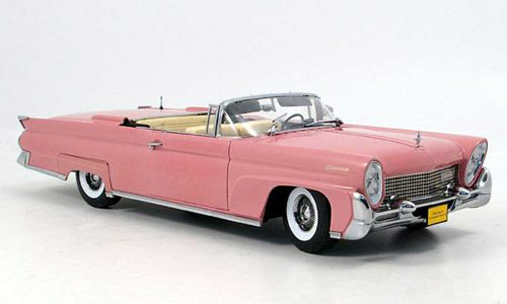Lincoln Continental 1958 1/18 Sun Star Mark III rose miniature