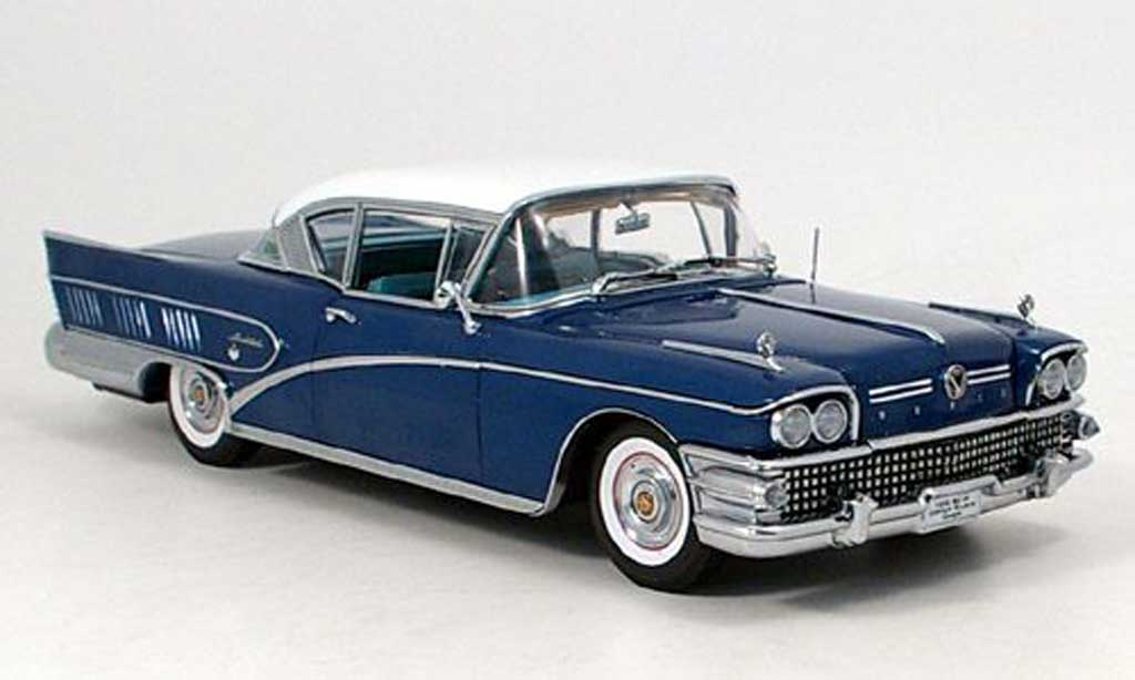 Buick Limited 1/18 Sun Star riviera  bleu 1958 miniature