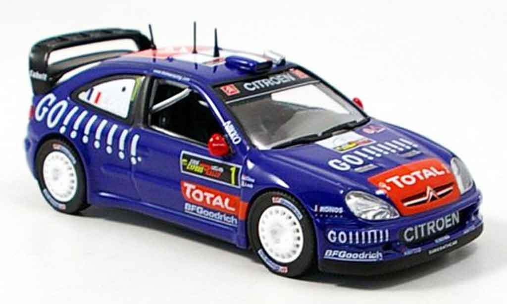 Citroen Xsara WRC 2006 1/43 Norev champion du monde loeb miniature