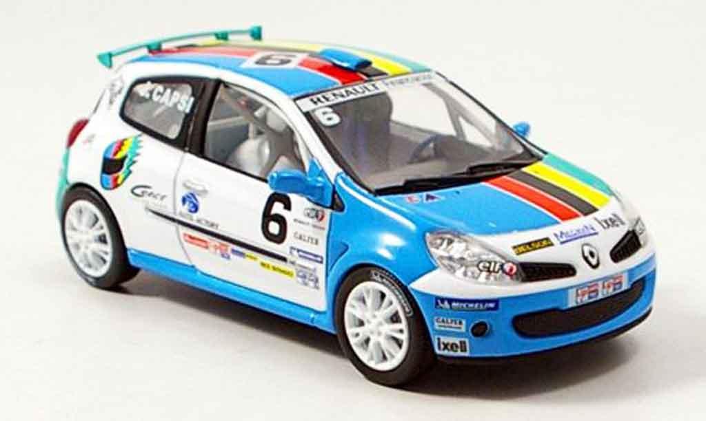 Renault Clio Cup 1/43 Norev no.6 clio 2006 miniature