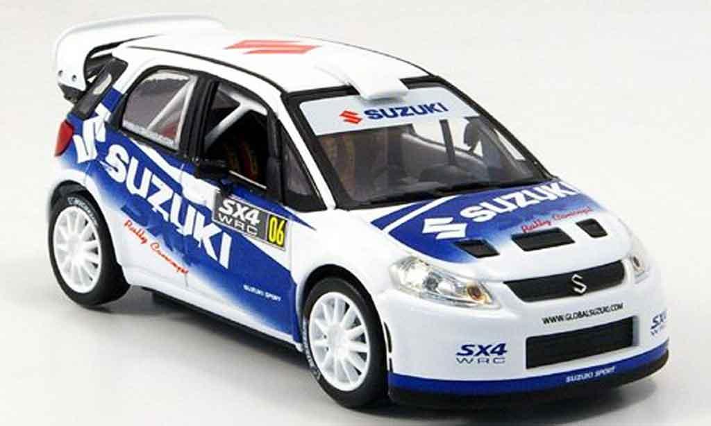 Suzuki SX4 1/43 Norev WRC 2006 miniature