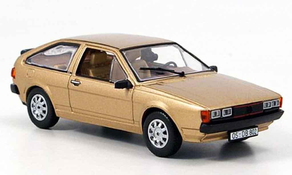 Volkswagen Scirocco 1/43 Norev scirocco ii gt or 1980 miniature