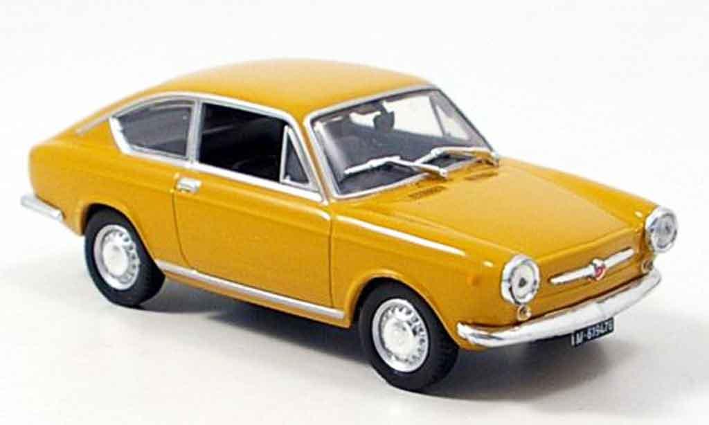 Seat 850 1/43 Norev coupe jaune 1967 miniature