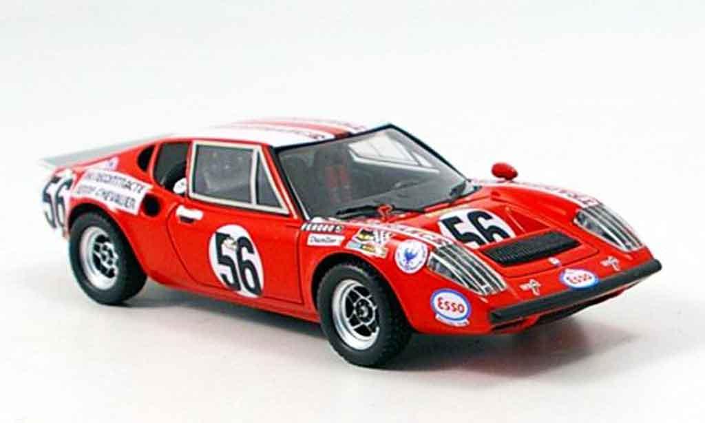 Ligier JS2 1/43 Spark No.56 Le Mans 1972 diecast model cars