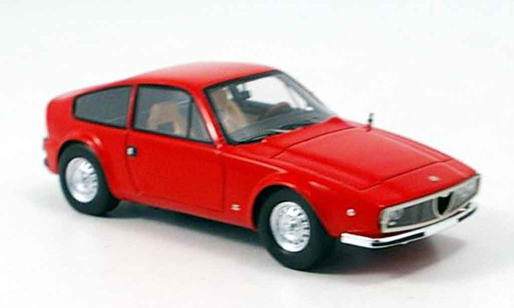 Alfa Romeo Junior Z 1/43 Spark rouge 1974 miniature