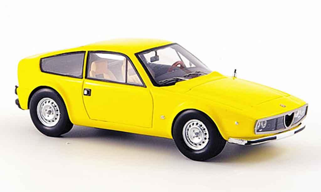 Alfa Romeo Junior Z 1/43 Spark jaune 1974 miniature