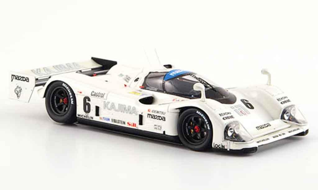 Mazda MX 1/43 Spark R01 No.6 Le Mans 1992 diecast model cars