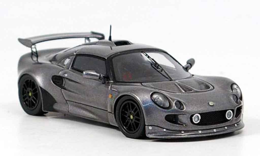 Lotus Exige 1/43 Spark mki grise metallisee 2000 miniature
