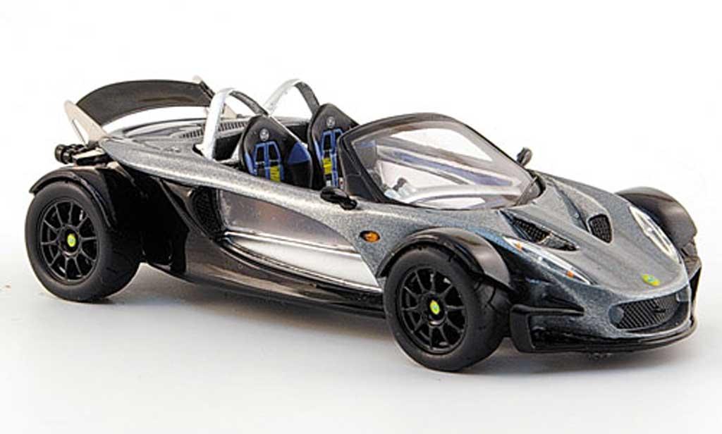 Lotus 340 1/43 Spark R gris/noire  2000 miniature