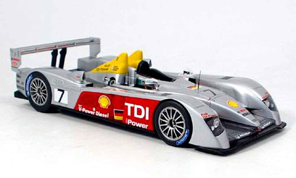 Audi R10 2006 1/18 Spark dritter le mans miniature