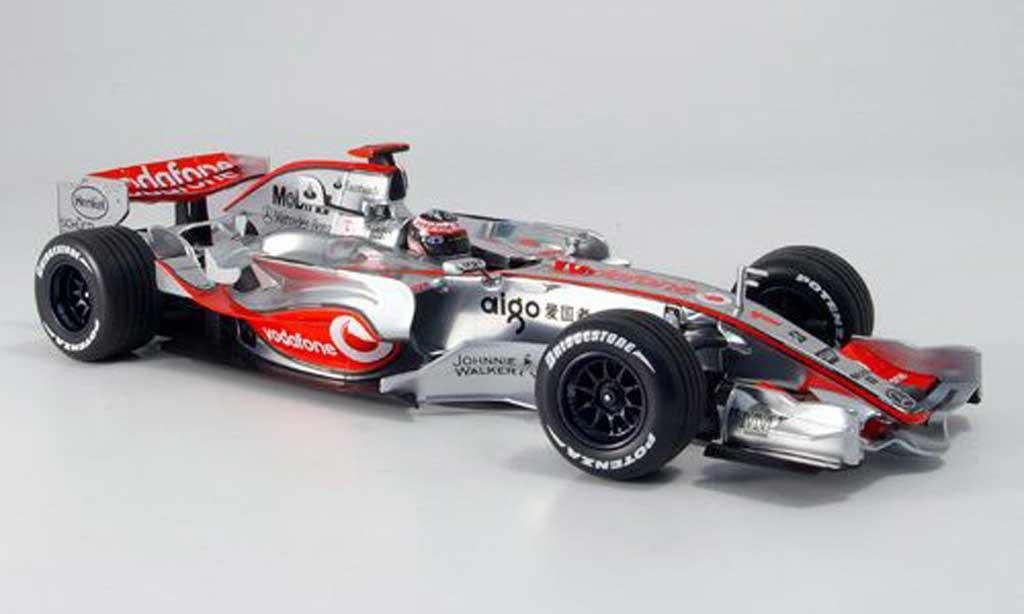 Mercedes F1 1/18 Minichamps mclaren vodafone mp 4 22 alonso 2007 miniature