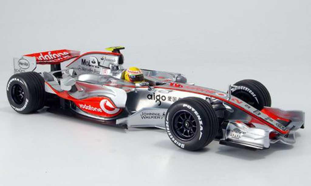 Mercedes F1 1/18 Minichamps mclaren vodafone mp 4 22 hamilton 2007 miniature