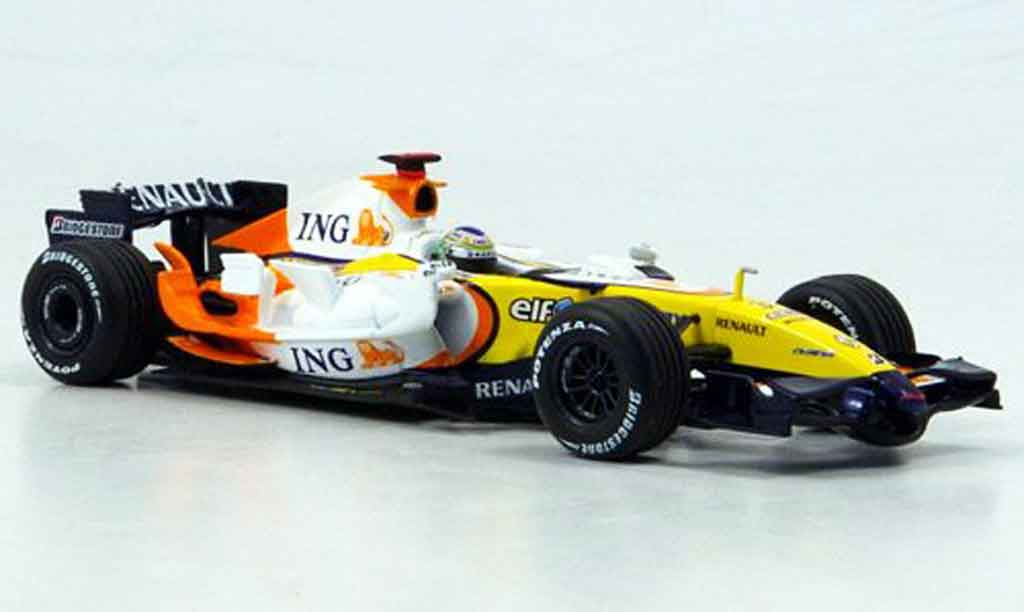 Renault F1 1/43 Minichamps ing f1 team r27 fisica 2007 miniature