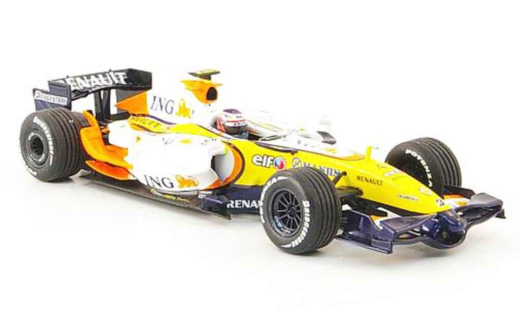 Renault F1 1/43 Minichamps ing f1 team r27 kovalainen 2007 miniature