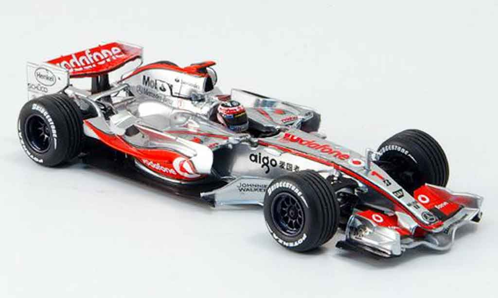 Mercedes F1 1/43 Minichamps McLaren Vodafone MP 4 22 Alonso 2007 miniature