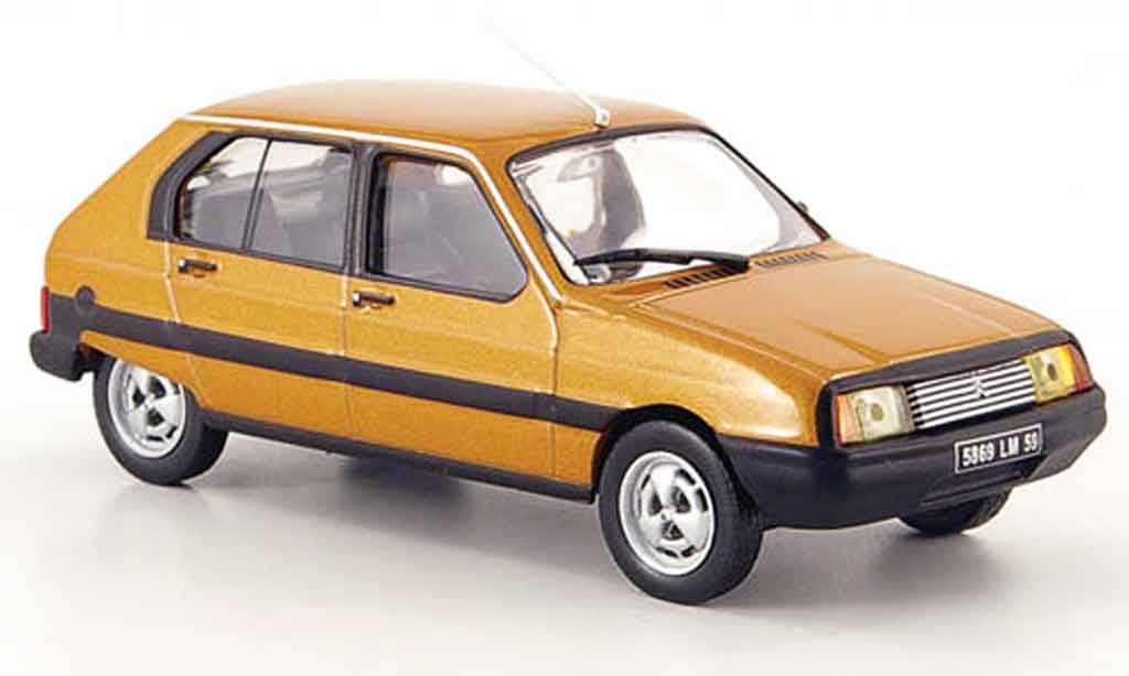 Citroen Visa 1/43 Eagle ii super e marron 1981 miniature