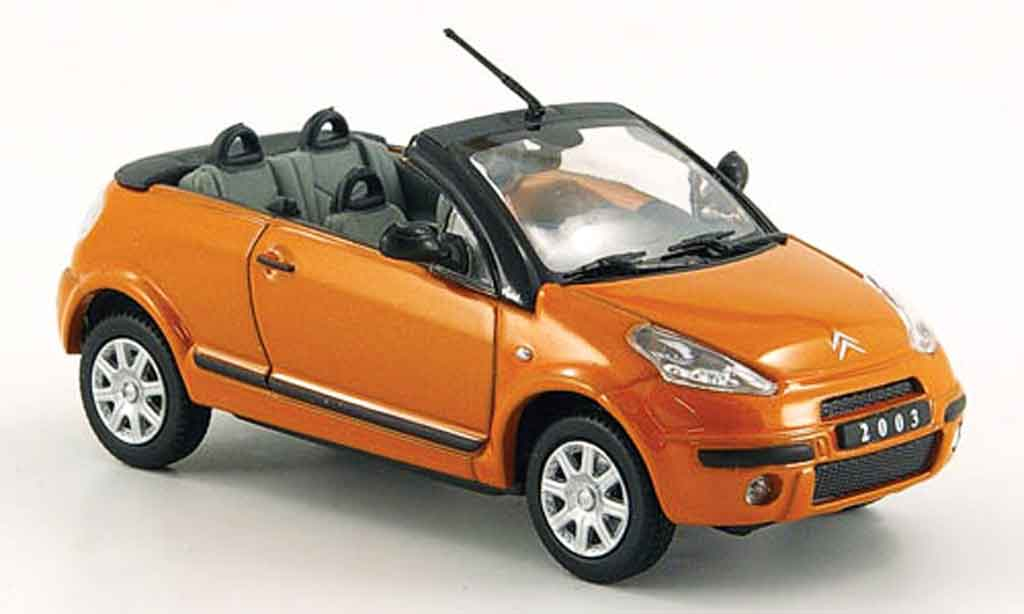 Citroen C3 1/43 Eagle pluriel orange 2003