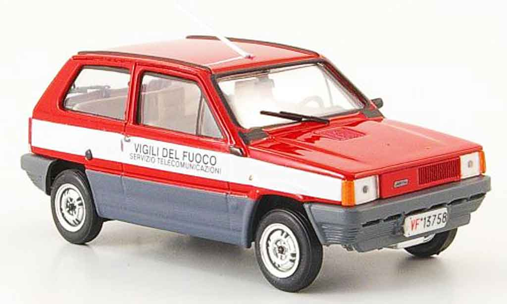 fiat panda miniature 45 pompier italien 1980 brumm 1 43 voiture. Black Bedroom Furniture Sets. Home Design Ideas