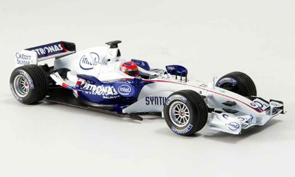 Bmw F1 2006 1/43 Minichamps Sauber F1 Team Kubica Thanks Michael  miniature