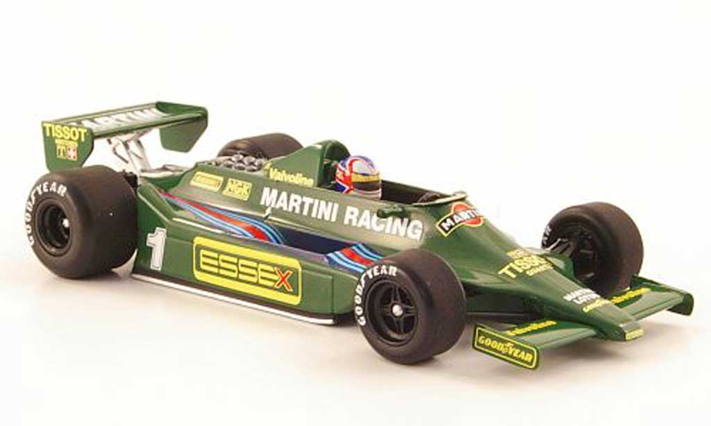 Lotus F1 1979 1/43 Minichamps Ford 79 No.1 Martini Racing N.Mansell Test Paul Ricard miniature