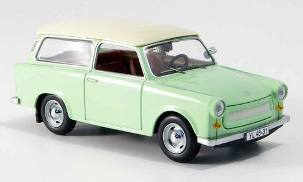 trabant 601 kombi green white 1965 ist models diecast. Black Bedroom Furniture Sets. Home Design Ideas
