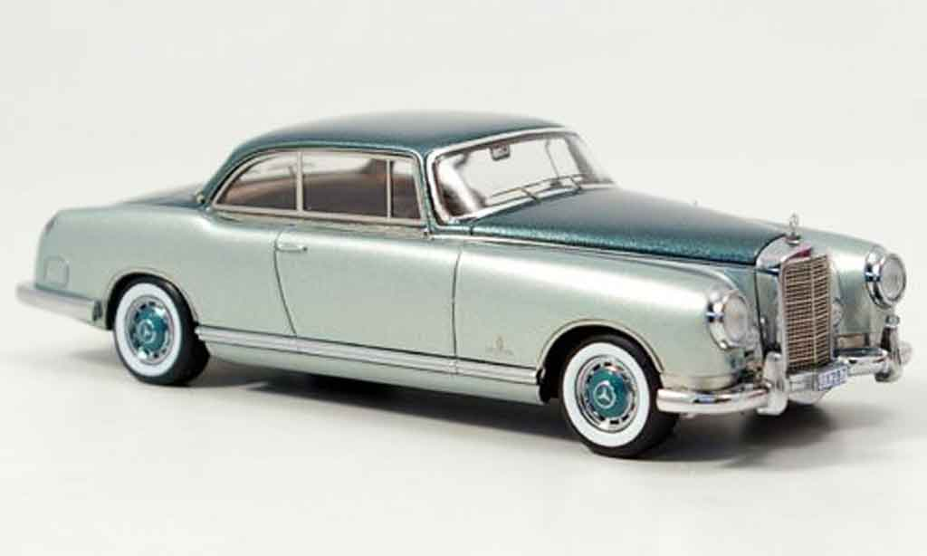 Mercedes 300 B Pininfarina gray green 1955 Neo. Mercedes 300 B Pininfarina gray green 1955 Pininfarina miniature 1/43