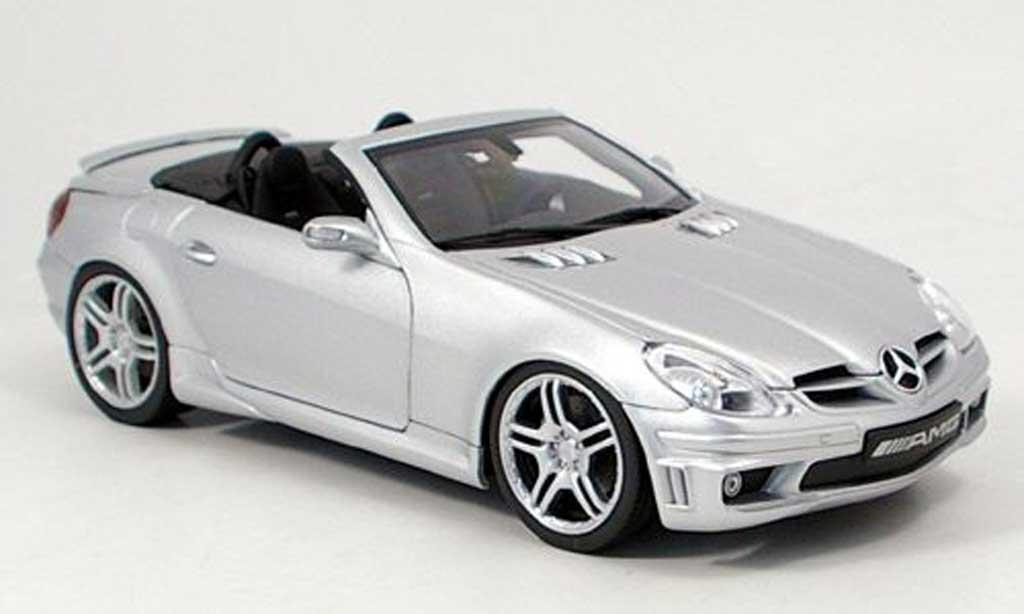 Mercedes Classe SLK 1/18 AutoProShop lorinser r171l grise miniature