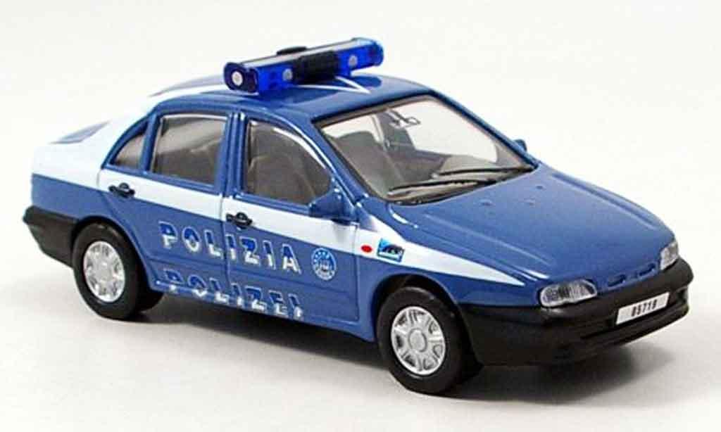Fiat Marea Police Italien Cararama Diecast Model Car 1 43