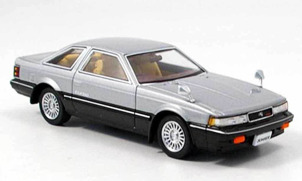 Toyota Soarer 1/43 Aoshima 2000 vr turbo grise 1982 miniature
