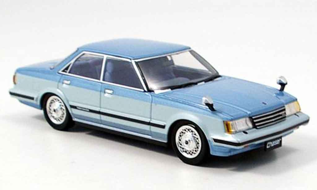Toyota Chaser 1/43 Aoshima avante twincam 24 bleu 1982 miniature