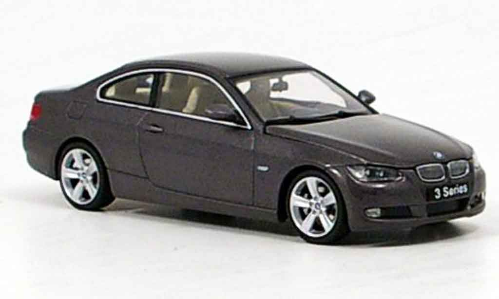 Bmw 330 E92 1/43 Autoart Coupe anthrazit 2007 miniature