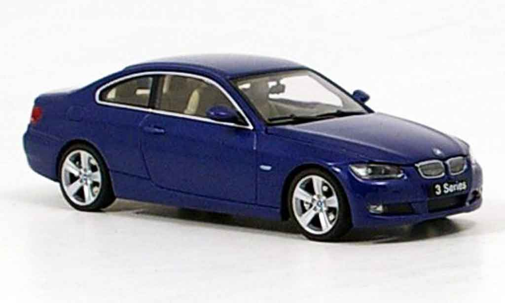 bmw 3er 2007 coupe blau 2007 autoart modellauto 1 43. Black Bedroom Furniture Sets. Home Design Ideas