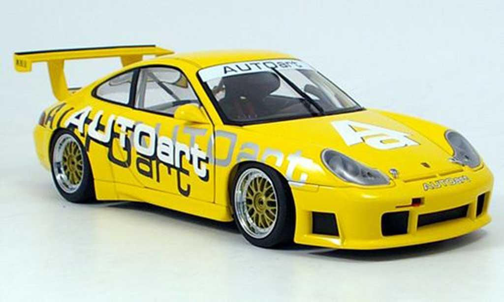 Porsche 996 GT3 1/18 Autoart autoart edition 2006 miniature