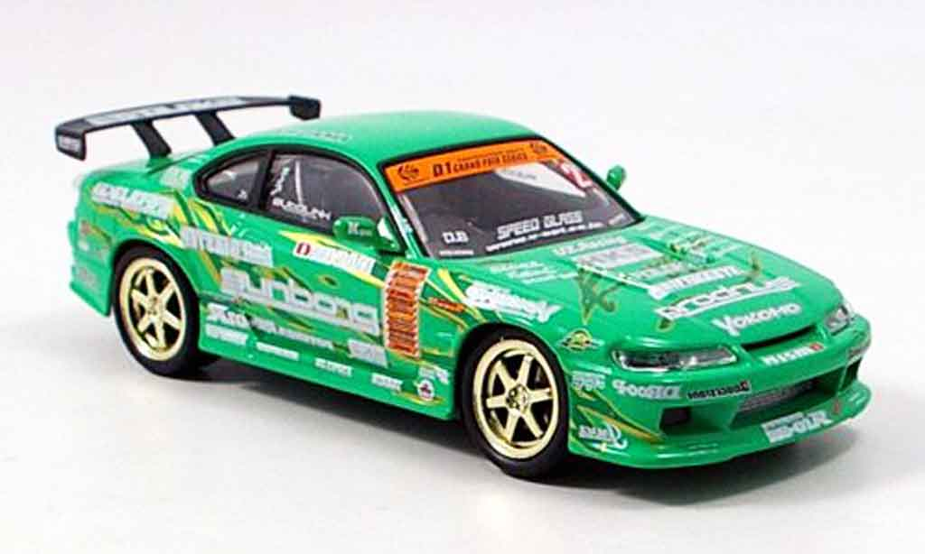 Nissan Silvia 1/43 Aoshima S15 Keioffice 2004 miniature