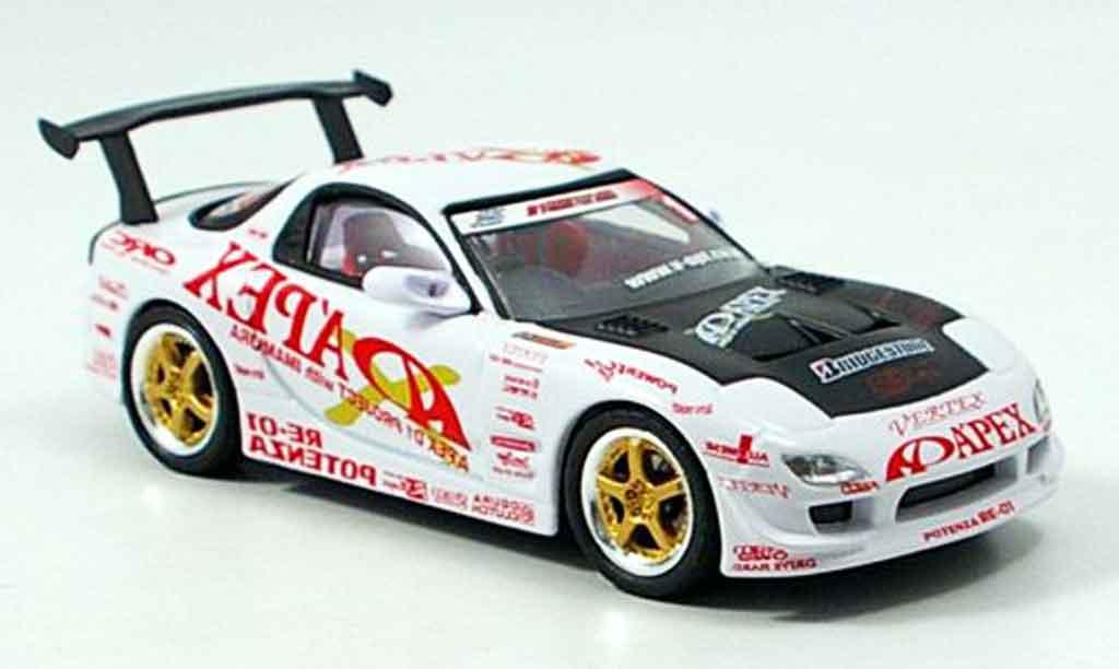 Mazda RX7 2003 1/43 Aoshima D1 Project FD3S Apex miniature
