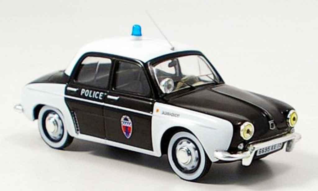 Renault Dauphine 1/43 IXO police paris 1962 miniature